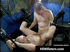 Free very extreme gay fisting gangbang part4