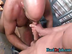 Dude gets his fine hairy ass fucked part6
