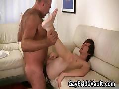 Horny gay bear fucking and sucking part6
