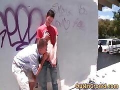 Hot hetero men get outed in public part3