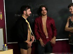 Twink movie Gorgeous youthful stud Krys Perez is feasting on