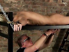 Gay underwear parties porn movie Draining A Slave Boys Cock