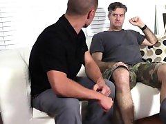 Free gay emo porn vid Tommy Makes Tenant Worship His Feet