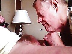 Grandpa blowjob series - 3