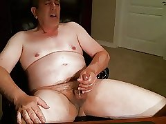 Naked Daddy Wank