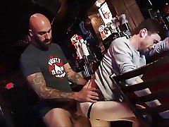 fucking a boy on the bar
