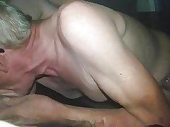 NOT my Dad 3 Blowjob and Masturbation in his Car