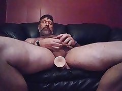 8 11 17 Danrun fucking his ass with cock toy