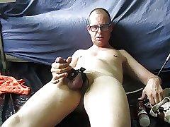 Fingerfucked cum shot