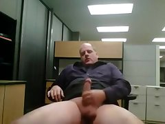 Hot dad jerks @ the office