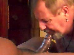 Chocolate semen-filled married fella
