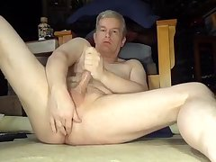 silver Dad's absolutely in nature's garb masturbation bliss