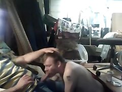 BearDaddy Mike and Cub Dave Garage Face Fuck