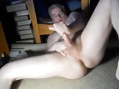 More Dad spread leg jacking