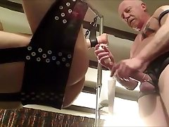 Hung Leather Muscle Daddy fucks his lad part 2