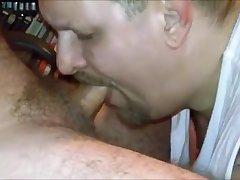 PreHunting Trip Blowjob for my Uncut Redneck Daddy!!