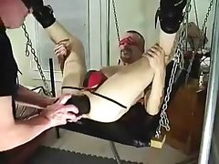 Blindfolded Sling Ride - Can't Watch What's Coming!!!