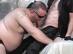 Shadow And Gay Boy Big Daddy Have Fetish Fuck Fest