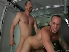 Incredible male in fabulous hunks, blowjob gay xxx movie