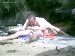 two daddies have bare beach pleasure