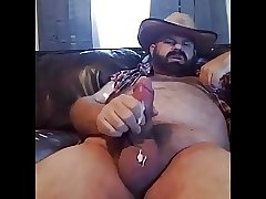 Stocky Hairy Cum Shot