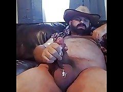 Stocky Hairy Cum Shot
