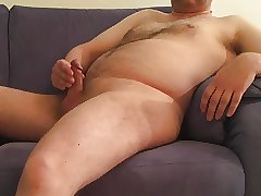 mature exhibitionist - posing (blue sofa pt. 3)