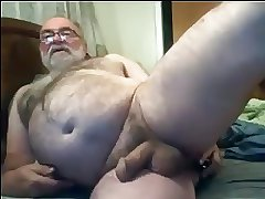 Jim's Anal Play and Cum