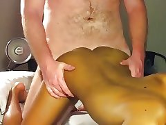 Bangkok boy fucked by white older guy