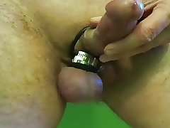 Horny dick hose clamp tight on balls play
