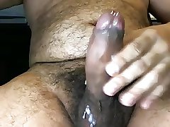 MILKING MY BIG DICK - SACANDOME LA LECHE