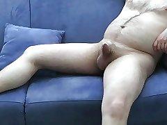 mature exhibitionist (blue sofa part 1)
