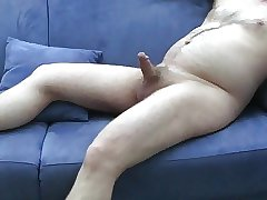 mature exhibitionist (blue sofa part 1)