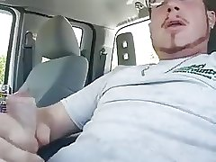 Daddie car cums