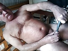 dirty farting  dribbling cock juice all over