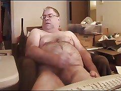 Dad Masturbates