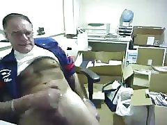 Daddy jacking on cam