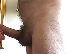 Twink sucks daddy's cock and gets the cum out