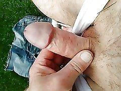 branlette dans le jardin