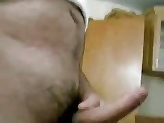 Silver daddy sucking a nice cock