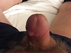 huge precum and slow cum