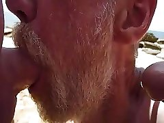 hungry mouth at the beach