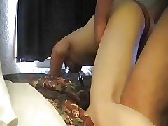 Homemade twink taking top cock
