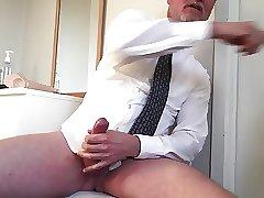Starting to play, stripping, talking