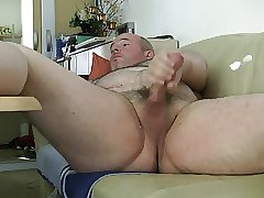 daddy bear masturbation