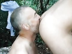 Rude in the woods
