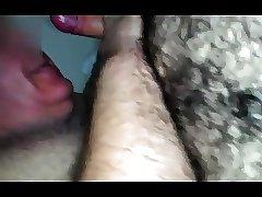 Daddy Bear Sucking And Masturbating