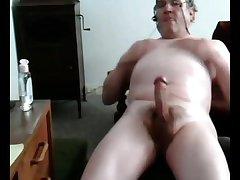 Old cum on cam 6