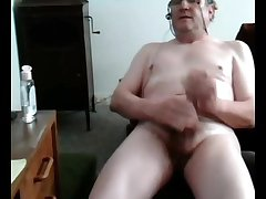 Old cum on cam 6