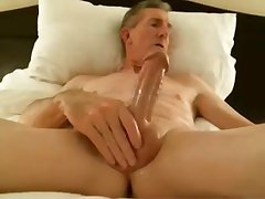 big cock grandpa cum